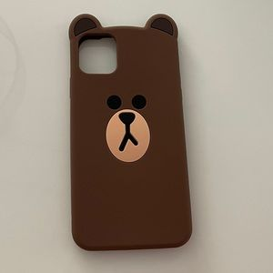 iPhone 11 Pro Max Case (Line Friends Brown)